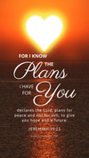 Christian Wallpaper – Sun Heart Jeremiah 29:11