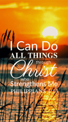 Christian Wallpaper – Sunrise Philippians 4:13