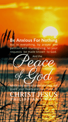 Christian Wallpaper – Sunrise Philippians 4:6-7