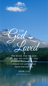 Christian Wallpaper – Switzerland John 3:16