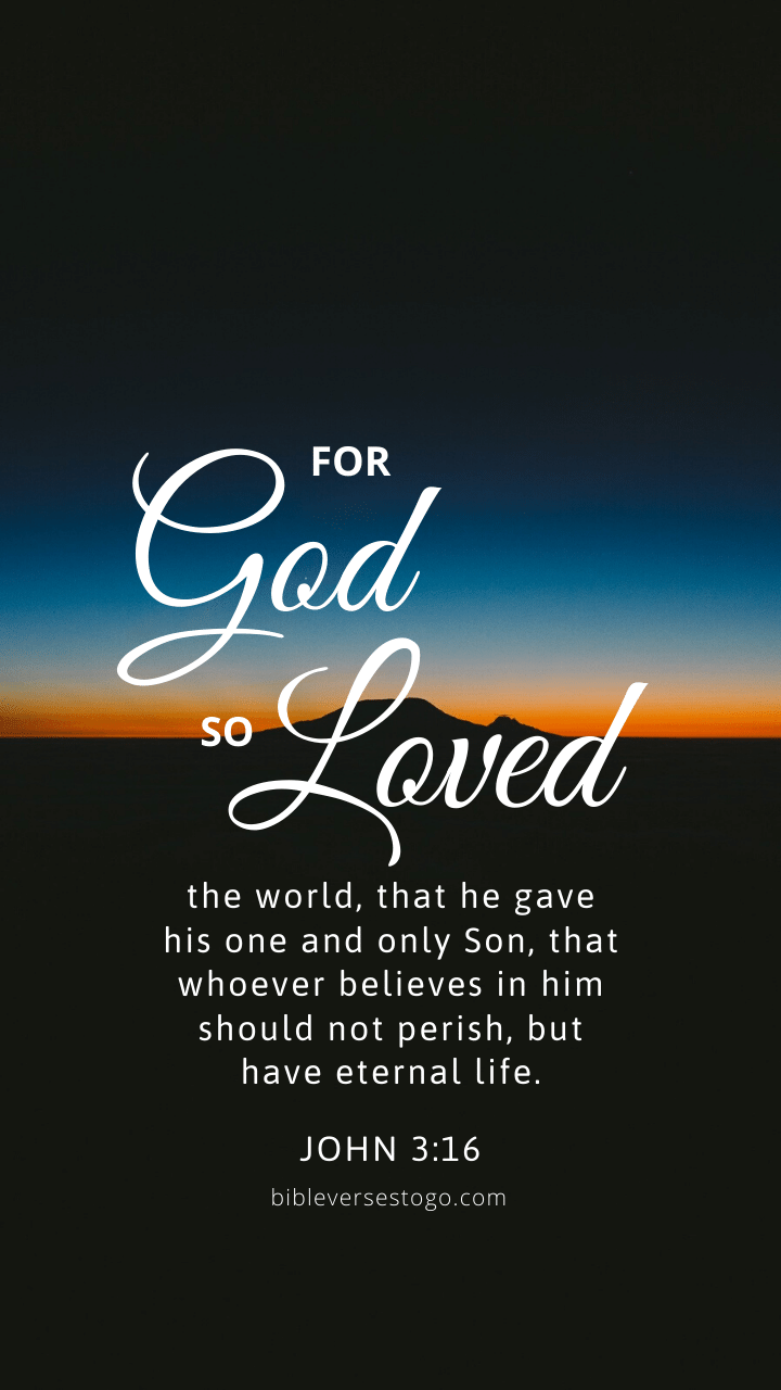 Christian Wallpaper - Twilight2 John 3:16