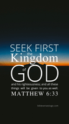 Christian Wallpaper – Twilight Matthew 6:33