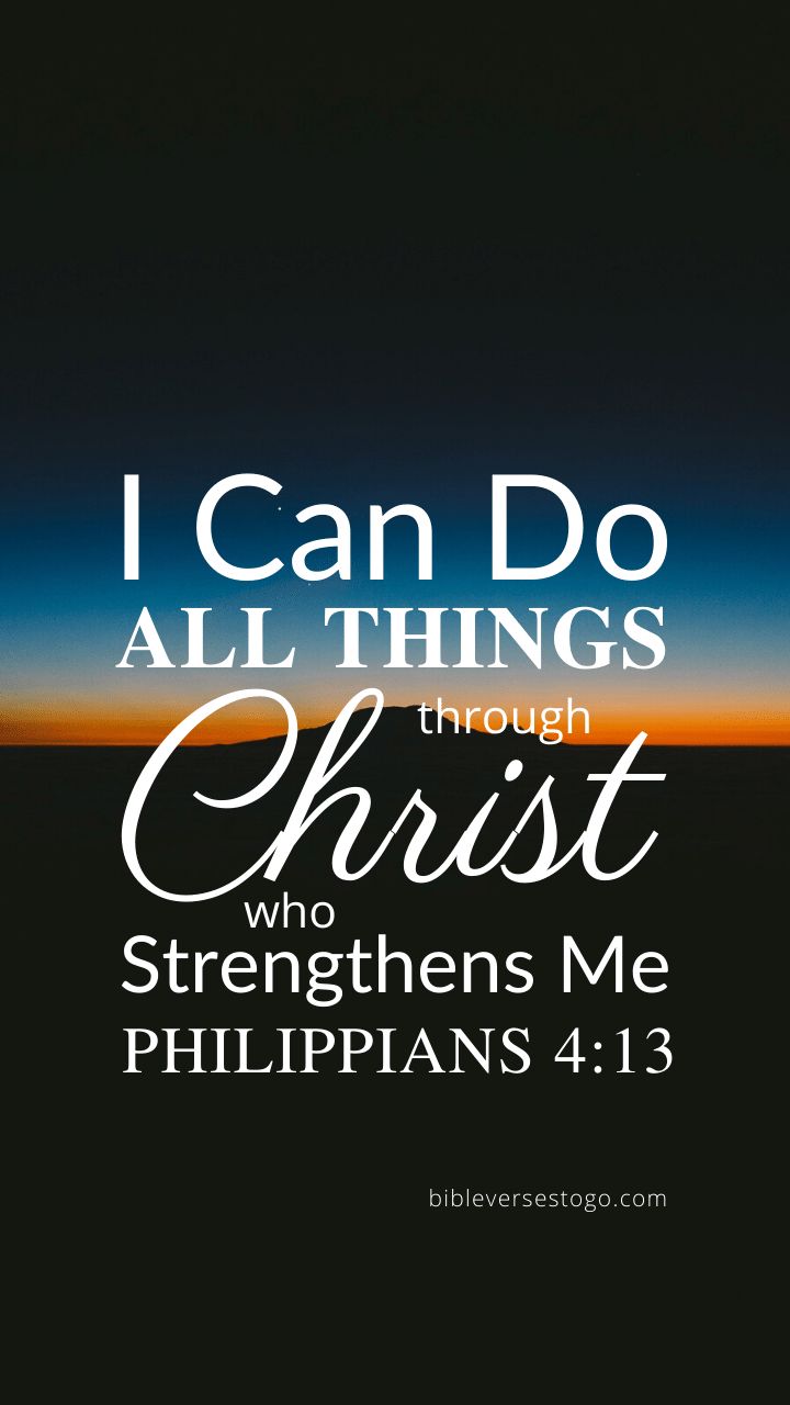 Christian Wallpaper - Twilight Philippians 4:13