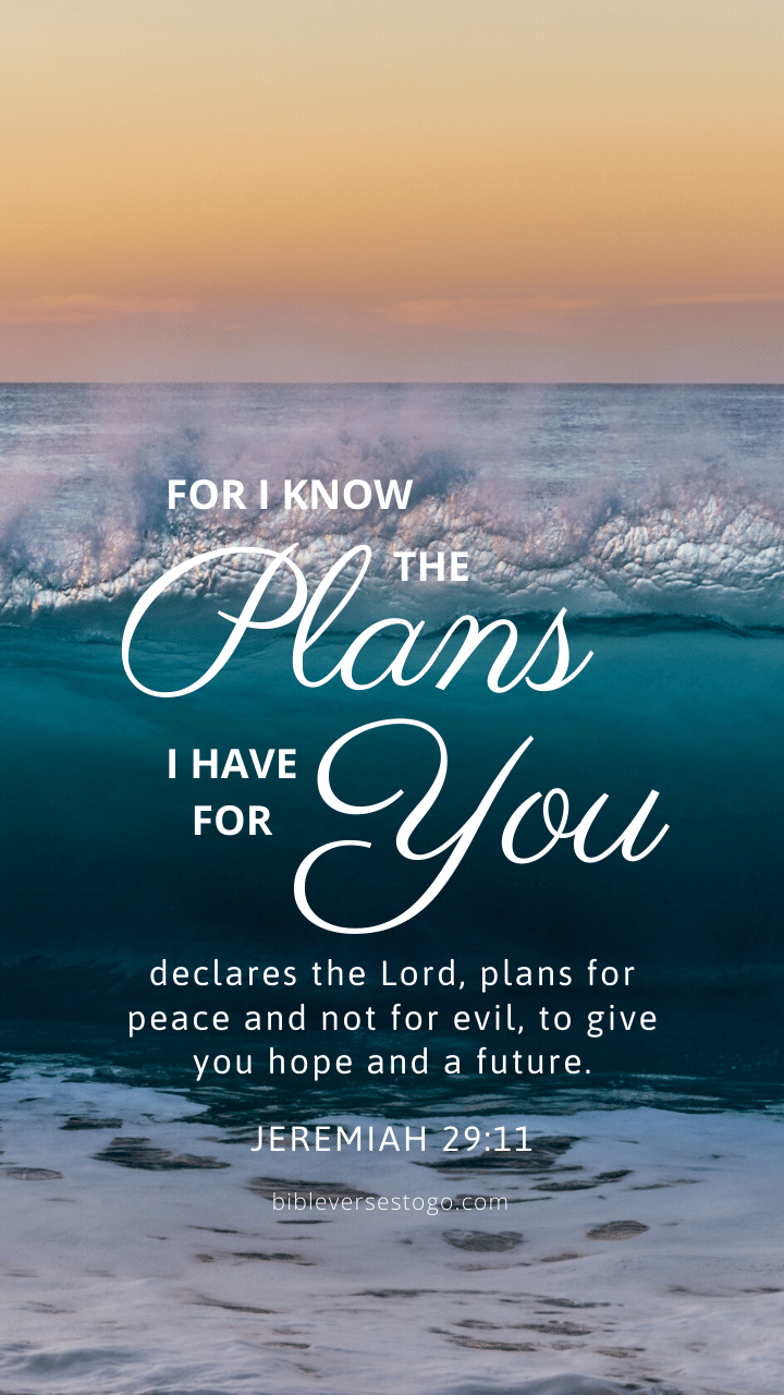 Waves Jer 29 11 Bible Verses To Go