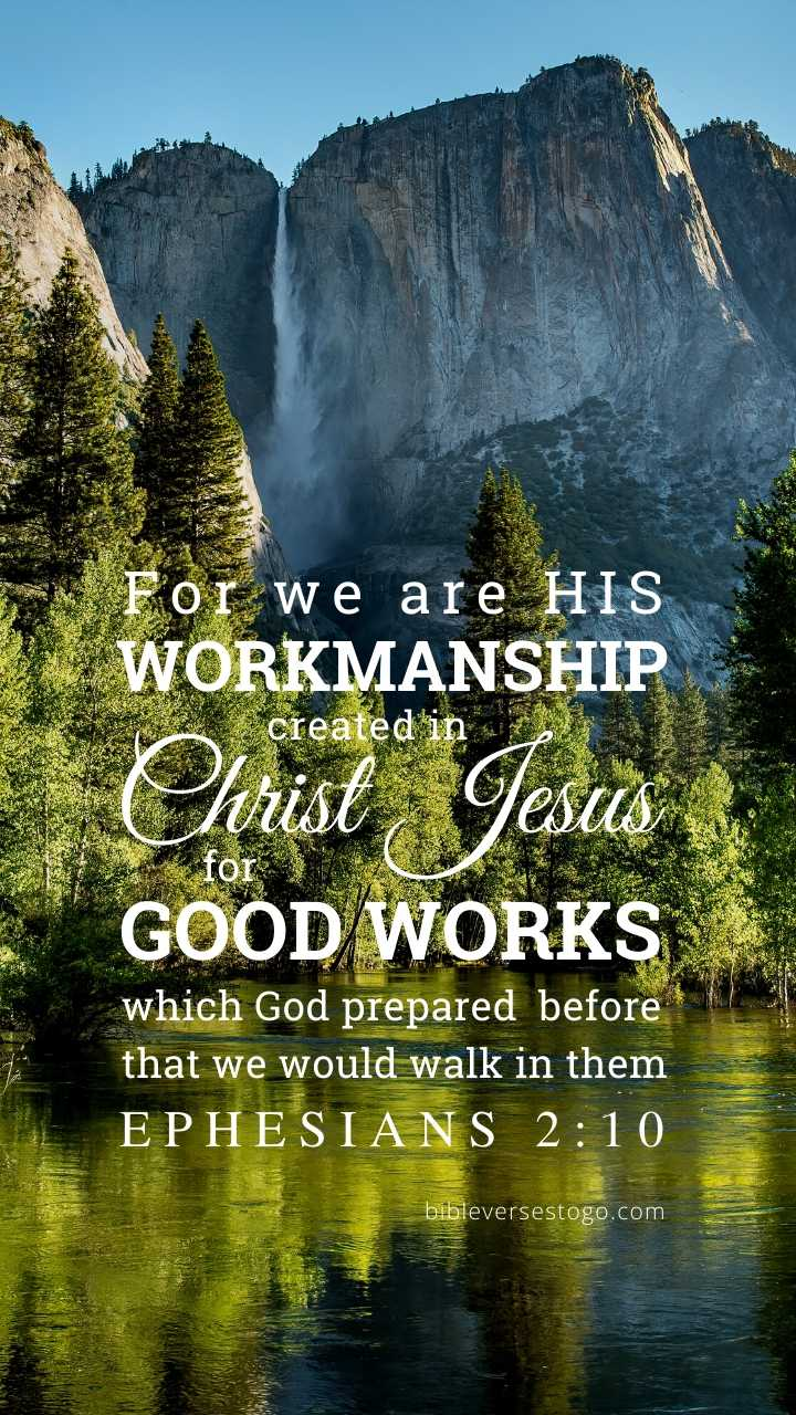 Christian Wallpaper - Yosemite Ephesians 2:10