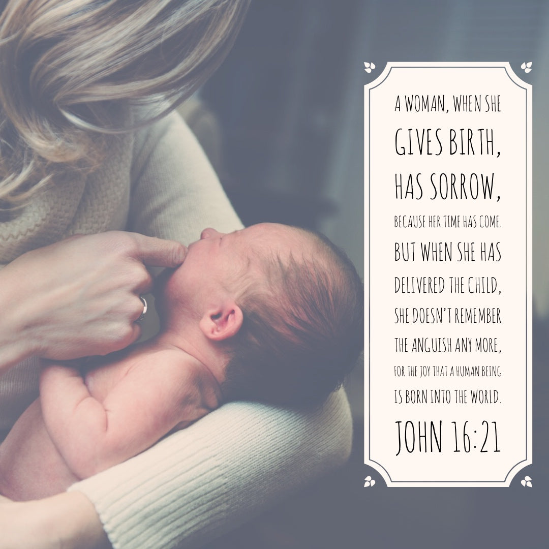 John 16:21 - Joy That a Human is Born