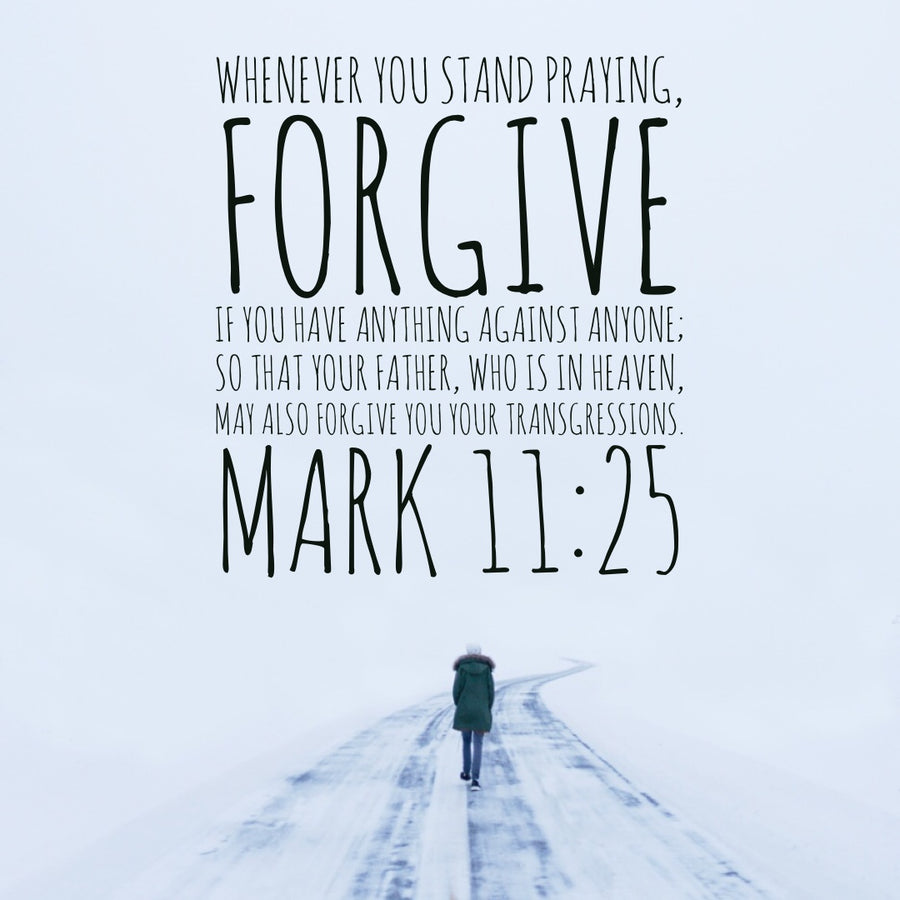 bible verses about forgiving family