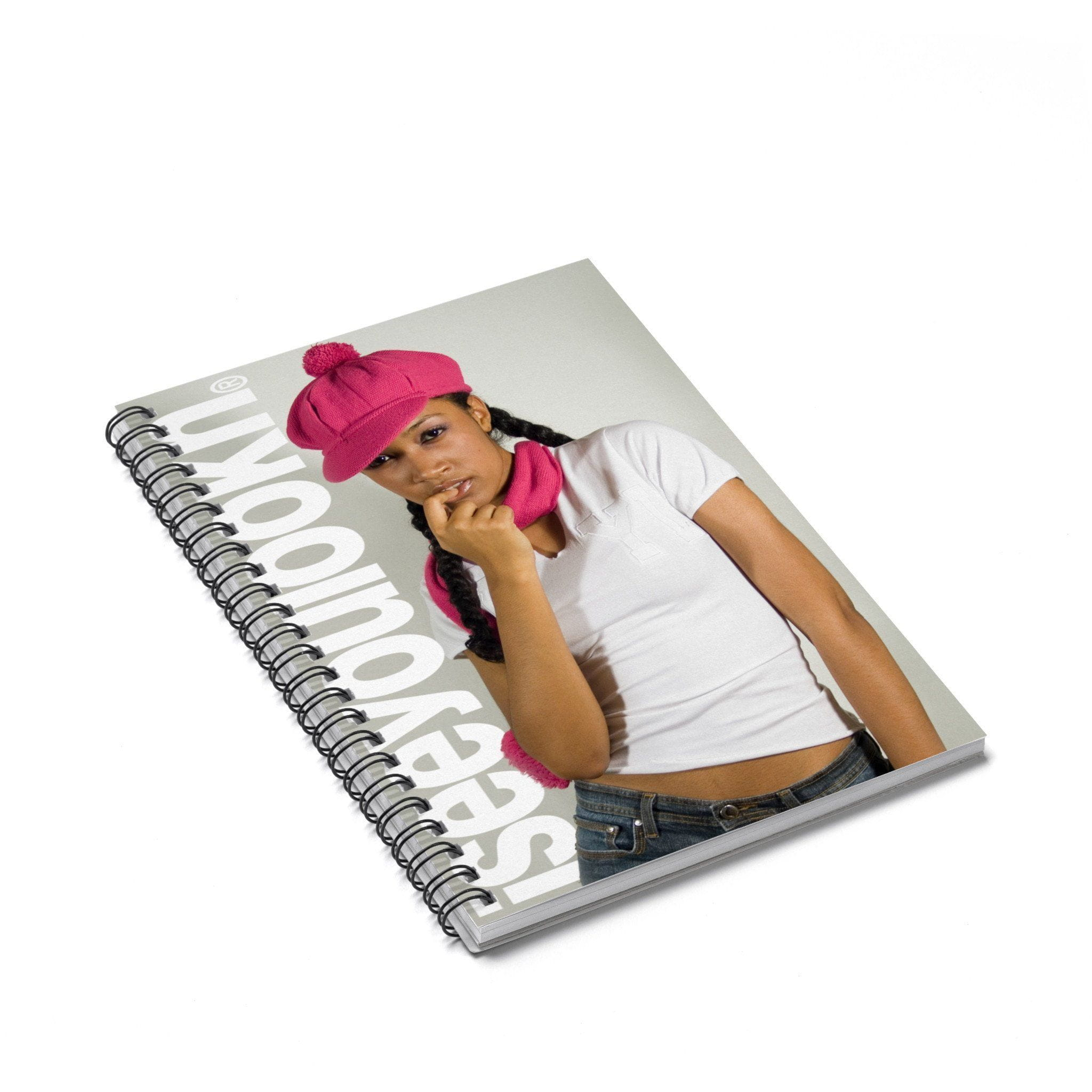 ISEEYOULOOKN Hotness Notebook - Ruled