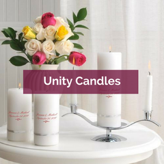 Personalized Unity Candles | Top Notch Gift Shop