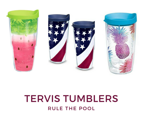 Rule the Pool with Tervis Tumblers