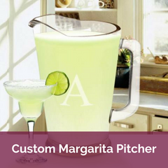 Personalized Margarita Pitcher | Top Notch Gift Shop
