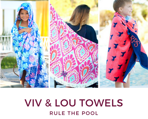 Viv & Lou Customizeable Towels