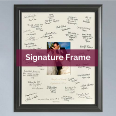 Wedding Wishes Signature Frame | Top Notch Gift Shop