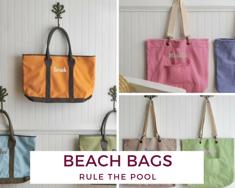 Customizeable Beach Bags