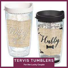 Tervis Tumblers for the Bride and Groom Top Notch Gift Shop