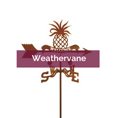 Pineapple Welcome Weathervane | Top Notch Gift Shop