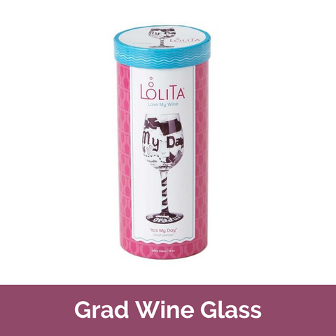 Lolita Wine Glass Graduation