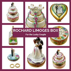 Rochard Limoges Boxes for the Big Day Top Notch Gift Shop