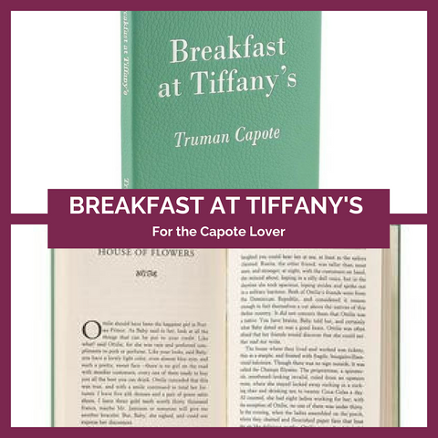 Breakfast at Tiffany's Leatherbound Book Top Notch Gift Shop