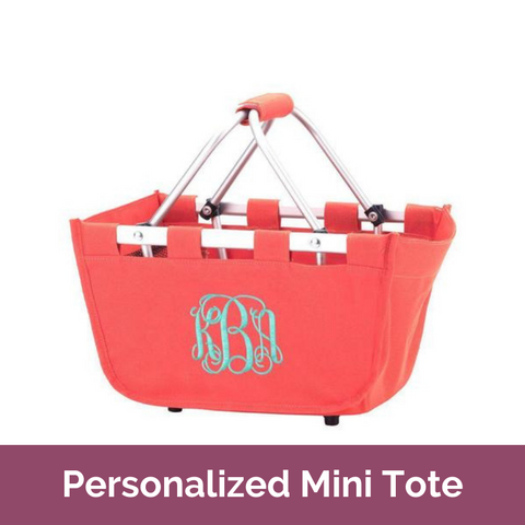 Personalized Mini Market Tote