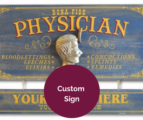 Personalized Physician Sign