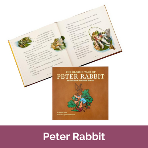 Peter Rabbit Leatherbound Book