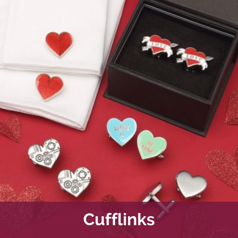 Valentine's Day Cufflinks
