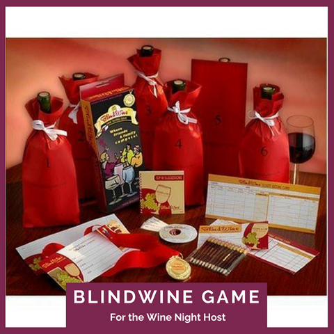 BlindWine™ - Wine Tasting Game Top Notch Gift Shop