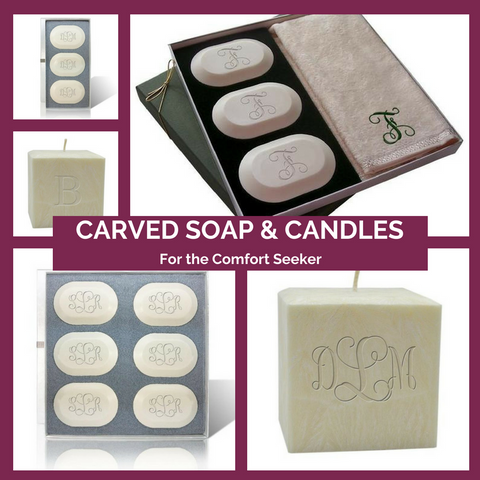 Carved Soaps and Candles Made in the USA Top Notch Gift Shop