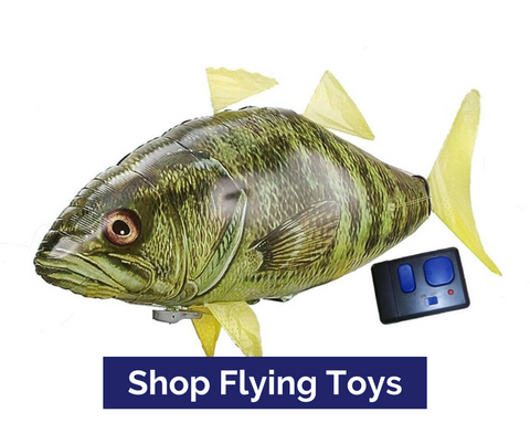 Flying Bass Toy Top Notch Gift Shop