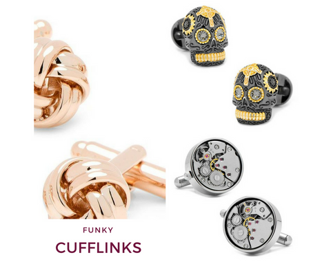 Funky Design Cufflinks | Top Notch Gift Shop