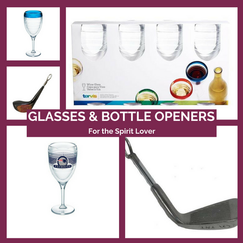 Glasses and Bottle Openers Made in the USA Top Notch Gift Shop