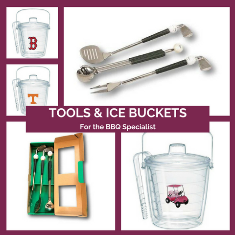 BBQ Tools and Ice Buckets Made in the USA Top Notch Gift Shop