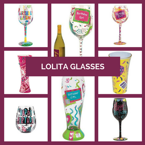 Lolita Wine Glasses All Year Long Top Notch Gift Shop