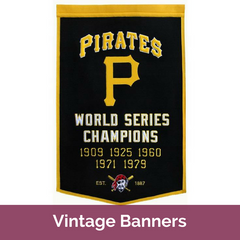 MLB Vintage Banners | Top Notch Gift Shop