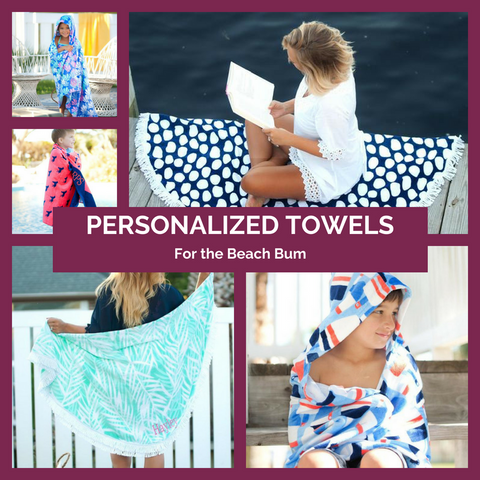 Personalized Towels Top Notch Gift Shop