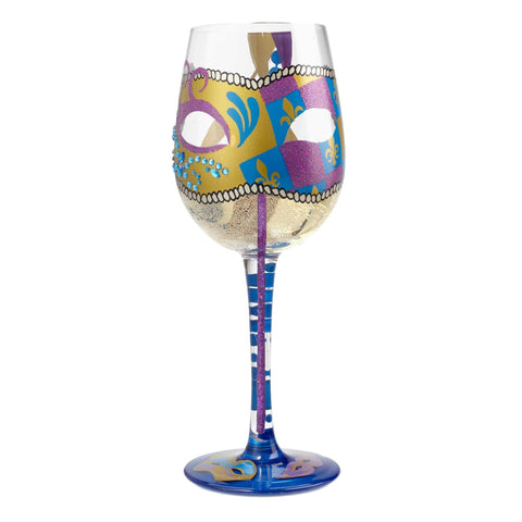 Party Gras Glass