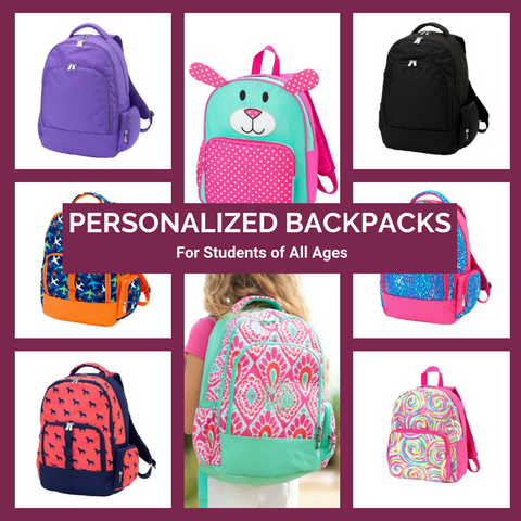 Personalized Backpacks Top Notch Gift Shops