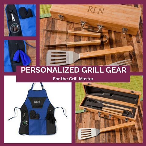 Personalized Grill Gear Top Notch Gift Shop