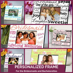 Personalized Picture Frames Bridesmaids Top Notch Gift Shop