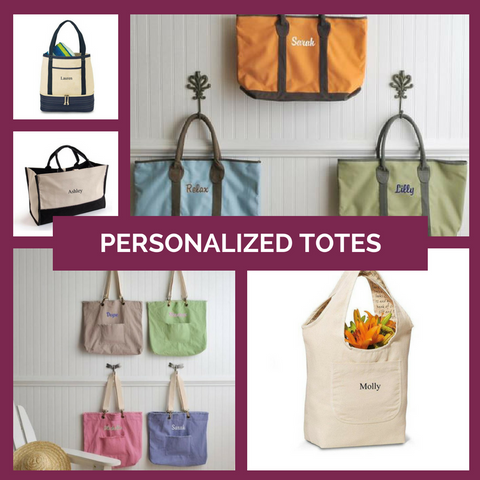 Personalized Tote Bags Top Notch Gift Shop
