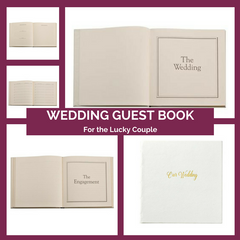 Personalized Wedding Guest Book Top Notch Gift Shop