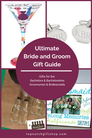 Perfect Gifts for the Bride and Groom Top Notch Gift Shop