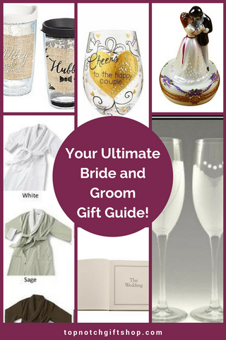 Ultimate Bride and Groom Gift Guide Top Notch Gift Shop