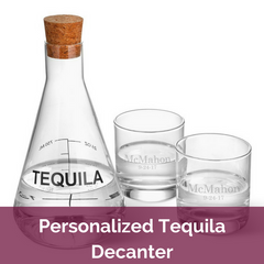 Personalized Tequila Decanter | Top Notch Gift Shop