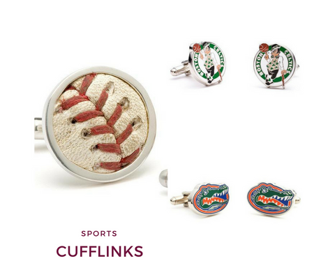 Sports Cufflinks | Top Notch Gift Shop