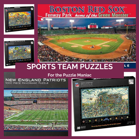 Sports Puzzles Made in the USA Top Notch Gift Shop