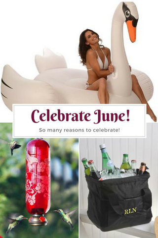 Reasons to Celebrate June Top Notch Gift Shop