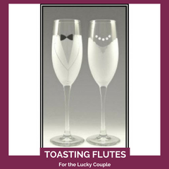 Toasting Flutes Top Notch Gift Shop
