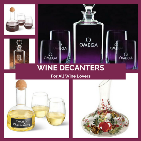 Wine Decanters Top Notch Gift Shop